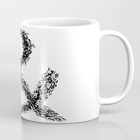 ampersand Mugs featuring Ampersand by Ismael Sandiego