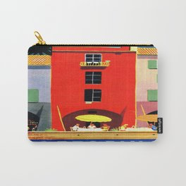 Vintage poster - Portofino Carry-All Pouch