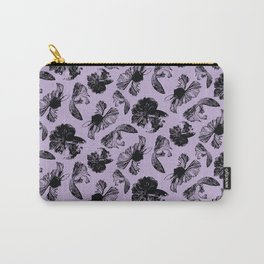 Beta Fish Lavender Carry-All Pouch
