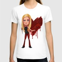 buffy the vampire slayer T-shirts featuring Buffy the Heart Slayer by Isaiah K. Stephens