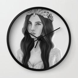Crown of Shells Wall Clock