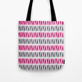 Tee Pee Pink Yarrow Tote Bag
