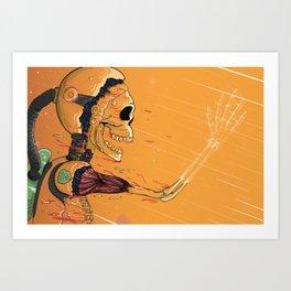 Reentry Art Print