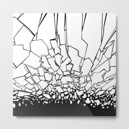 Broken II Metal Print
