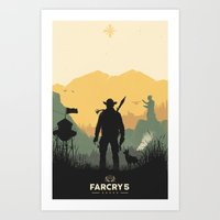 Welcome To Hope County Art Print