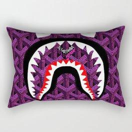 Bape Purple Camo Rectangular Pillow