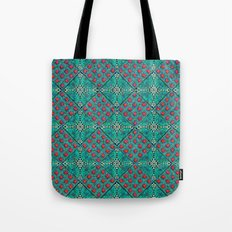 Cottage Garden Pattern Tote Bag