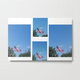 Flag - United States of America Metal Print