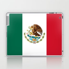 The Mexican national flag - Authentic high quality file Laptop & iPad Skin