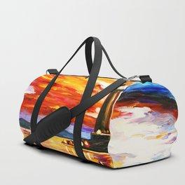 Light Art Tower Duffle Bag