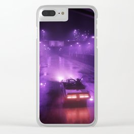MEMORIES Clear iPhone Case