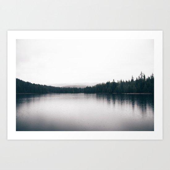 Forest Lake II Art Print