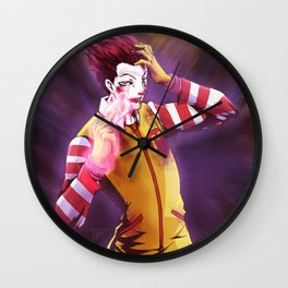 Hisoka McDonald Wall Clock