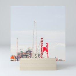 Coney Island Amusement Mini Art Print