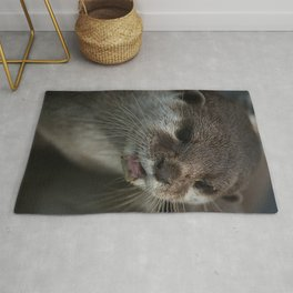 Otterly Sweet Face Rug