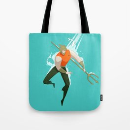With the fishes Tote Bag