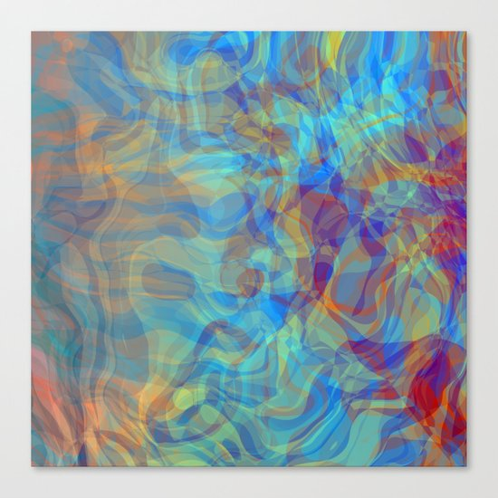 Like Fire and Ice Canvas Print
