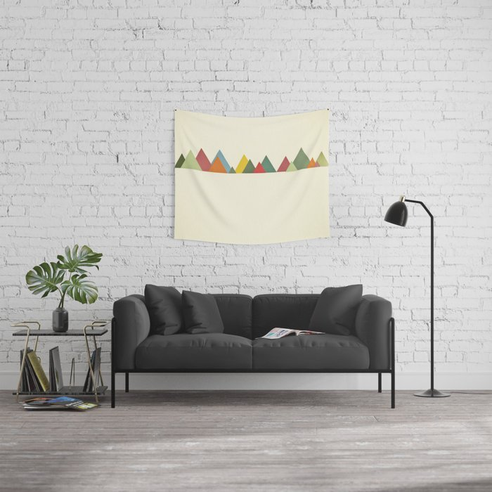 Mountain range Wall Tapestry