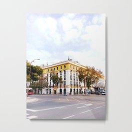 City Block, Seville Metal Print