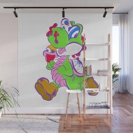 Zombie Yoshi Wall Mural