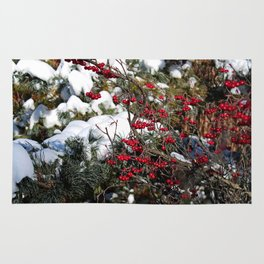 Berries and Bushes Rug