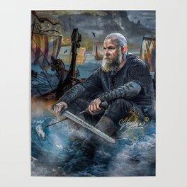 Vikings Ragnar Lothbrok Poster