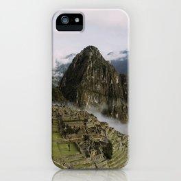 Machu Picchu Sunrise iPhone Case