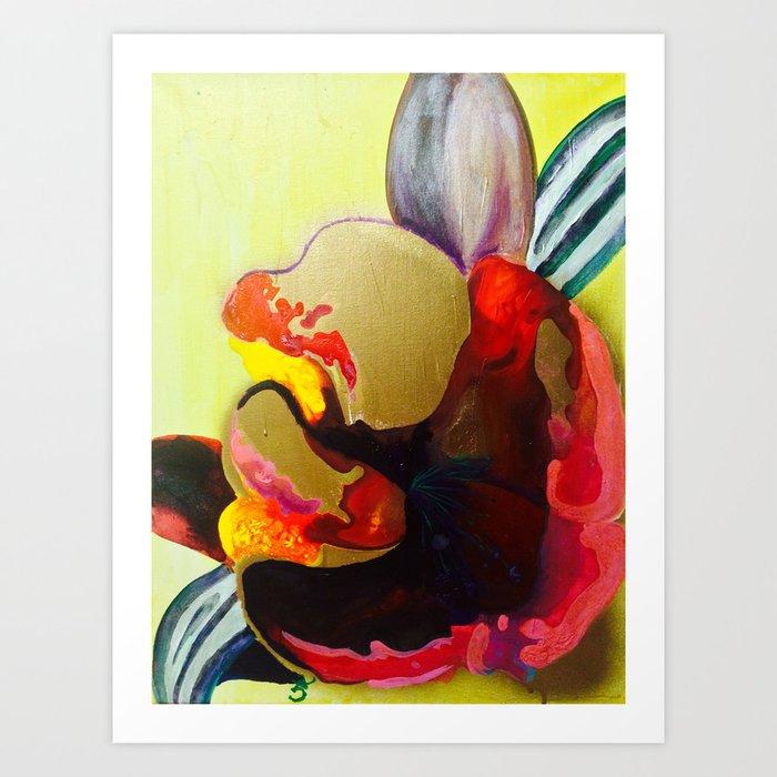 Burn The Flowers For Fuel Art Print