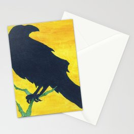 """Shadows Crow"" Stationery Cards"