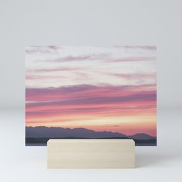 Sunset Layer Cake Mini Art Print