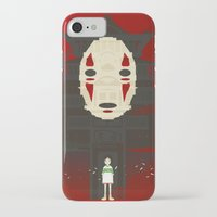 spirited away iPhone & iPod Cases featuring Spirited by Danny Haas