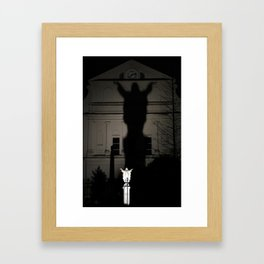 St Louis Cathedral Rear View Framed Art Print
