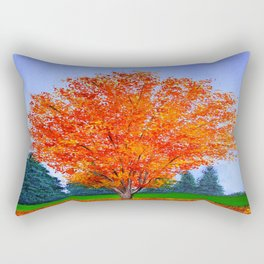 Fall tree in ND Rectangular Pillow