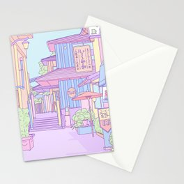 Continuously Lost in Japan Stationery Cards