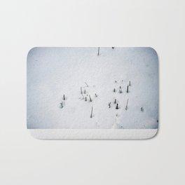Snow #1 Bath Mat