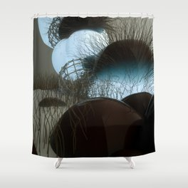 BOOGERS Shower Curtain