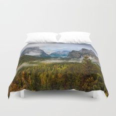 Yosemite National Park / Tunnel View  4/26/15 Duvet Cover