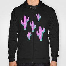 Linocut Cacti Blink Hoody