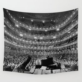 Theatre orchestra Wall Tapestry