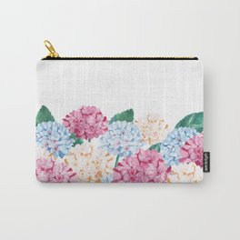 Hydrangea Art Carry-All Pouch