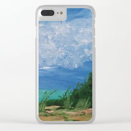 By the Shoreline Clear iPhone Case