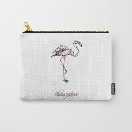 phoenicopterus Carry-All Pouch