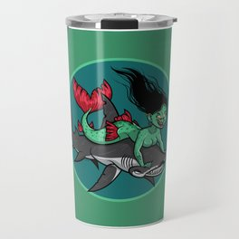 Mermaid Mayhem Travel Mug