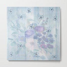 Spring Flower Shower Metal Print