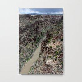 Rio Grande Gorge : Taos New Mexico Metal Print