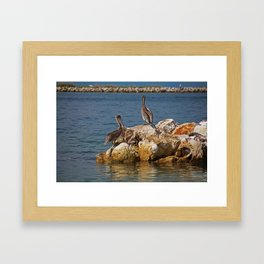 The Point of Everything Framed Art Print