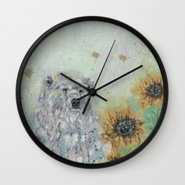 I'll be here, look for me.. Wall Clock