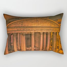 The Ancient Pantheon in Rome Rectangular Pillow