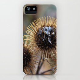 Burdock iPhone Case