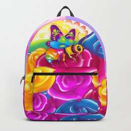 1997 Neon Rainbow Beelzebub Backpack